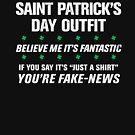 Donald Trump BEST SAINT PATRICK'S DAY Distressed Shirt by ClothedCircuit
