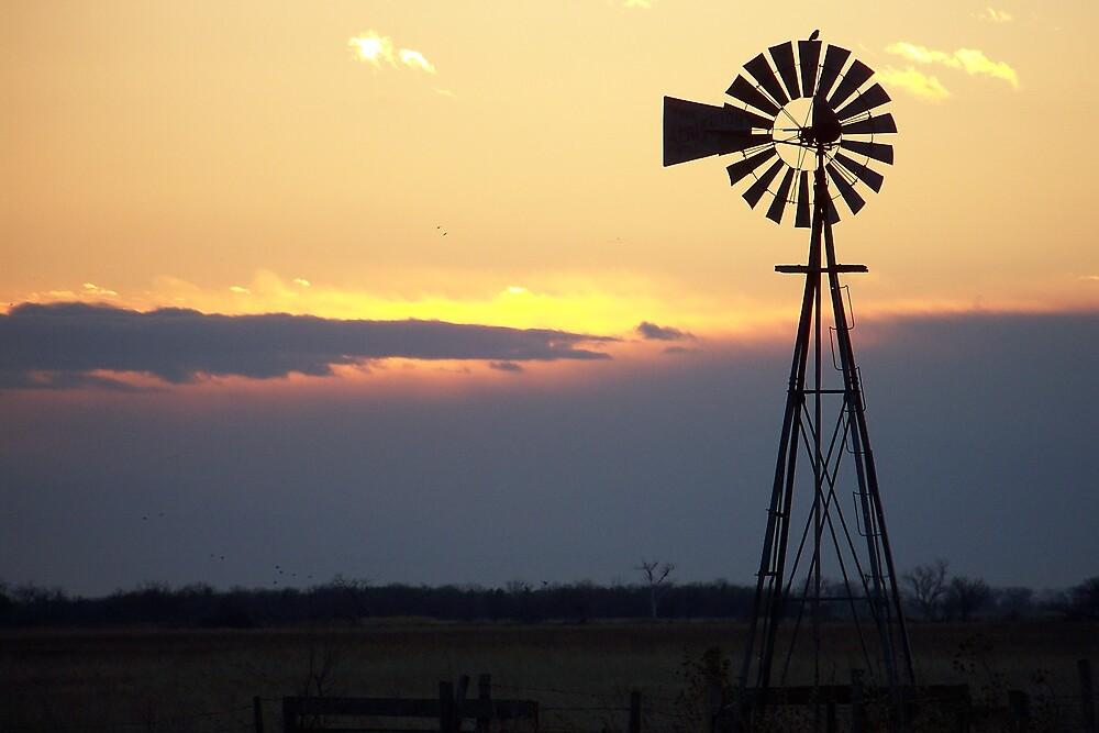 Quot Windmill Sunset Silhouette Quot By Jillian Jones Redbubble