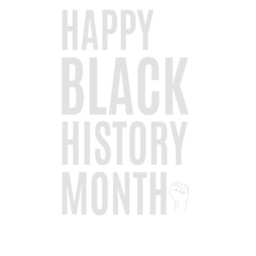 Happy Black History Month by clairesdesign