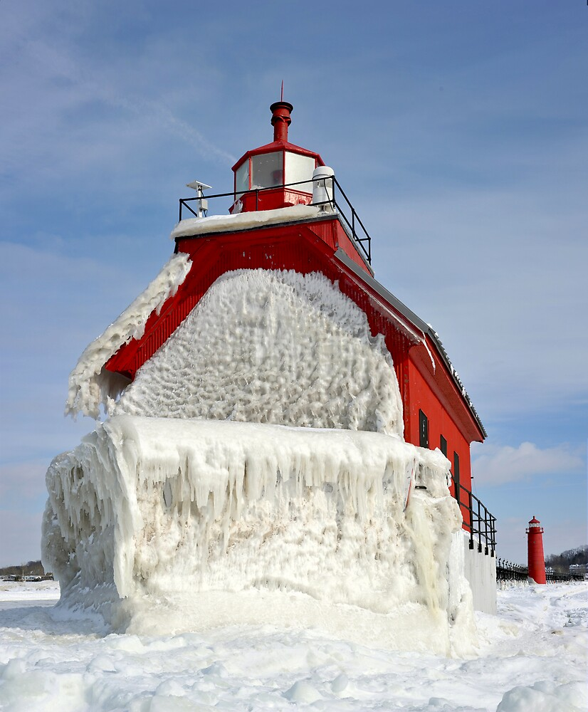 Winter Ice by Randall Scholten