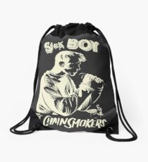 Sick Boy Drawstring Bag