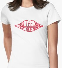 Save the drama for your mama Women's Fitted T-Shirt