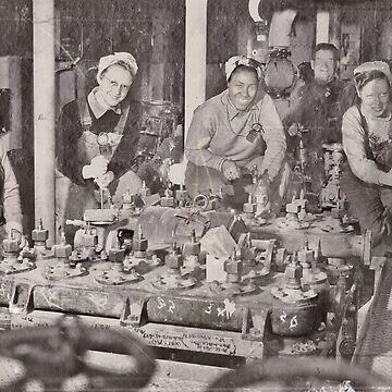 Shipfitter Pals at Work WWII by dianegaddis