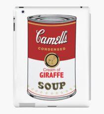 CAMELL'S Cream of GIRAFFE Soup Pop Art iPad Case/Skin