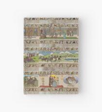 Cuaderno de tapa dura Quince paneles de Gabeaux Tapestry