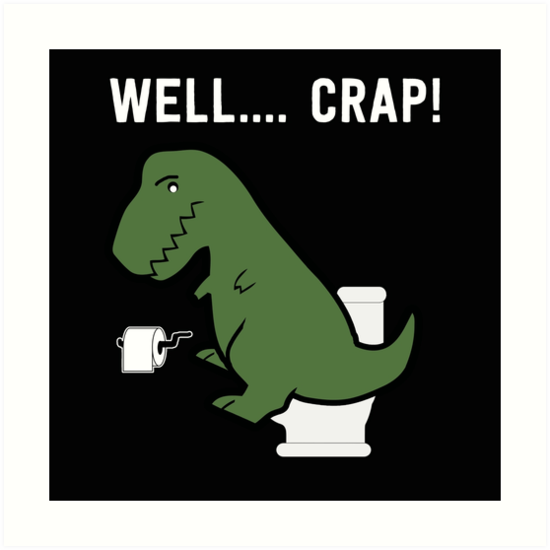 funny t rex dinosaur shirt art prints by maximus design redbubble