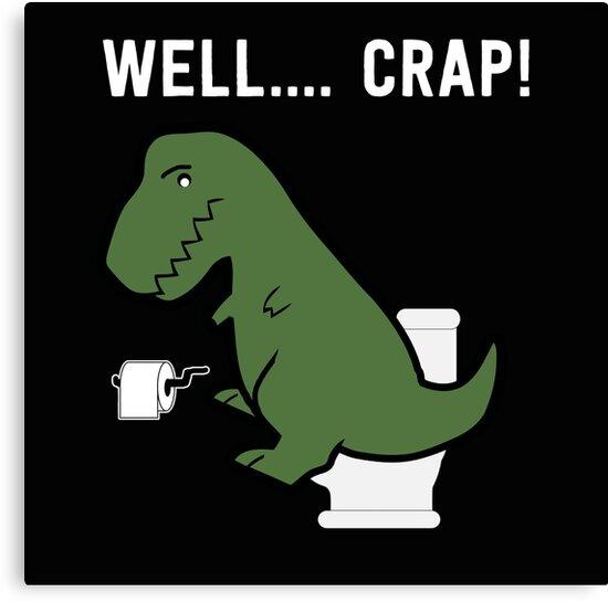 funny t rex dinosaur shirt canvas prints by maximus design redbubble