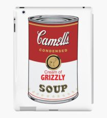 CAMELL'S Cream of GRIZZLY Soup Pop Art iPad Case/Skin