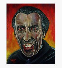 Dracula (Christopher Lee) Photographic Print