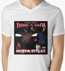 Drei Sechs Mafia - Mystic Stylez T-Shirt mit V-Ausschnitt für Männer