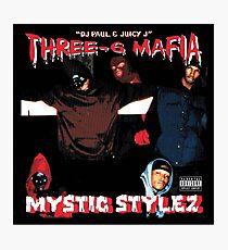Drei Sechs Mafia - Mystic Stylez Fotodruck
