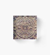Mayan Calendar 6 Acrylic Block
