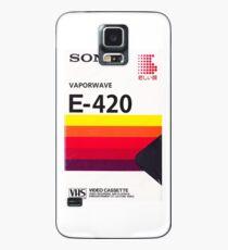 Vaporwave VHS Case/Skin for Samsung Galaxy