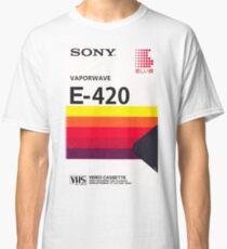 Vaporwave VHS Classic T-Shirt
