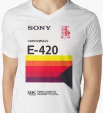 Vaporwave VHS Men's V-Neck T-Shirt