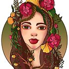 Flower Girl by Ginte