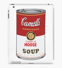 CAMELL'S Cream of MOOSE Soup Pop Art iPad Case/Skin