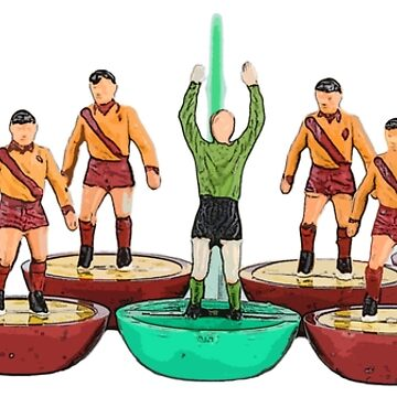 Motherwell subbuteo football team by vancey73