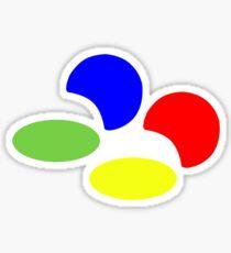 Super NES Logo (Flat) Sticker