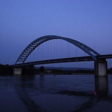 The Blue Bridge by letterchan