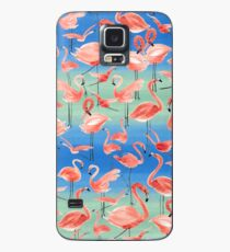 Flamingos Case/Skin for Samsung Galaxy