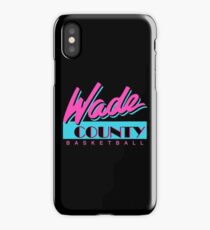 Wade County Basketball iPhone Case