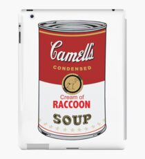 CAMELL'S Cream of RACCOON Soup Pop Art iPad Case/Skin