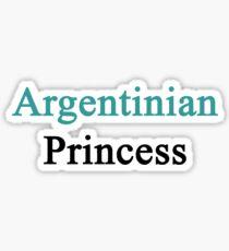 Argentinian Princess  Sticker