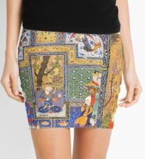 Shahnameh 1st  Design  Mini Skirt