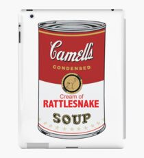 CAMELL'S Cream of RATTLESNAKE Soup Pop Art iPad Case/Skin