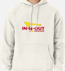 In-N-Out Sticker Pullover Hoodie