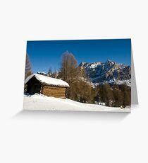 Dolomiti Greeting Card