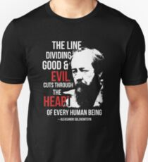 Read the Gulag Archipelago and Sort Yourself Out Slim Fit T-Shirt
