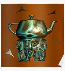 Grandma's Teapot Poster