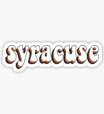 Syracuse Retro Sticker