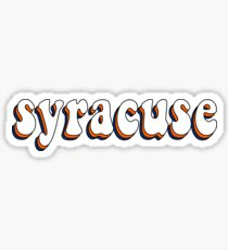 Syracuse Retro Sticker