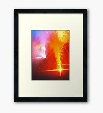 Alien forest Framed Print