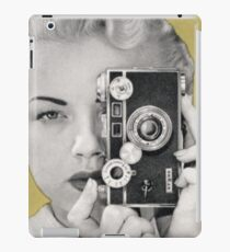 Woman with Argus Camera - Vintage Graphic iPad Case/Skin