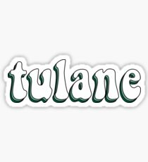 Tulane Retro Sticker