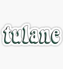 Tulane Retro Sticker
