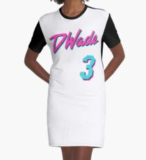Vice Wade Jersey Script 1 Graphic T-Shirt Dress