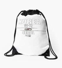 Capital Korea Drawstring Bag