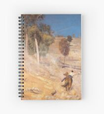 A Break Away by Tom Roberts Spiral Notebook