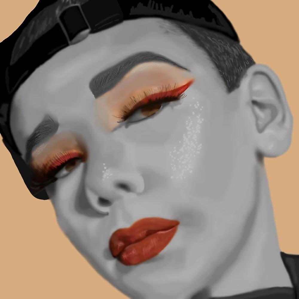 Makeup Jack's Portrait by mjviajes