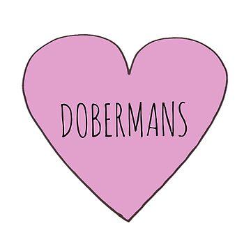 Doberman Love  by Bundjum