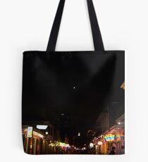 Bourbon Streetscape By Night Tote Bag