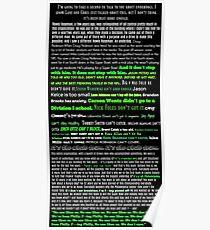 Eagles Jason Kelce Speech Poster