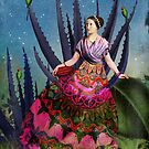 Blue Agave and Cacao by Catrin Welz-Stein