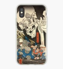 Utagawa Kuniyoshi - Takiyasha the Witch and the Skeleton Spectre iPhone Case