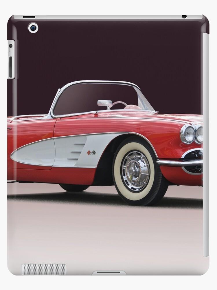 1958 Chevrolet Corvette Convertible 'Studio I' by DaveKoontz